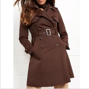 New York & Company Brown Trench Coat